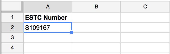 ESTC Google Sheets setup illustartion 1